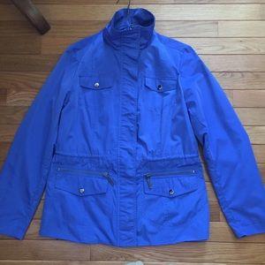 Vibrant blue Studio Works spring jacket 🧥